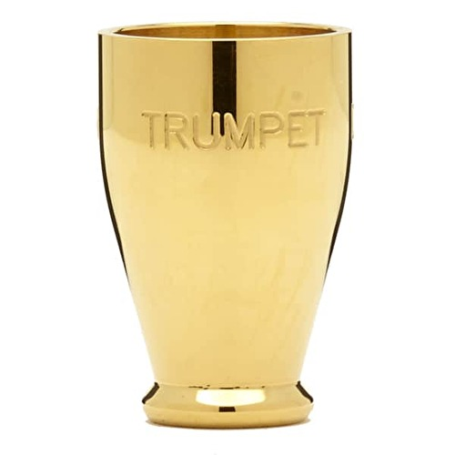 Denis Wick 7181 Trumpet Mouthpiece Booster Gold Plated