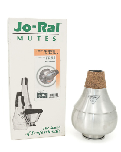 Jo-Ral Tenor Trombone Mute - TRB-3 Bubble ET - New but with loose extendable tube