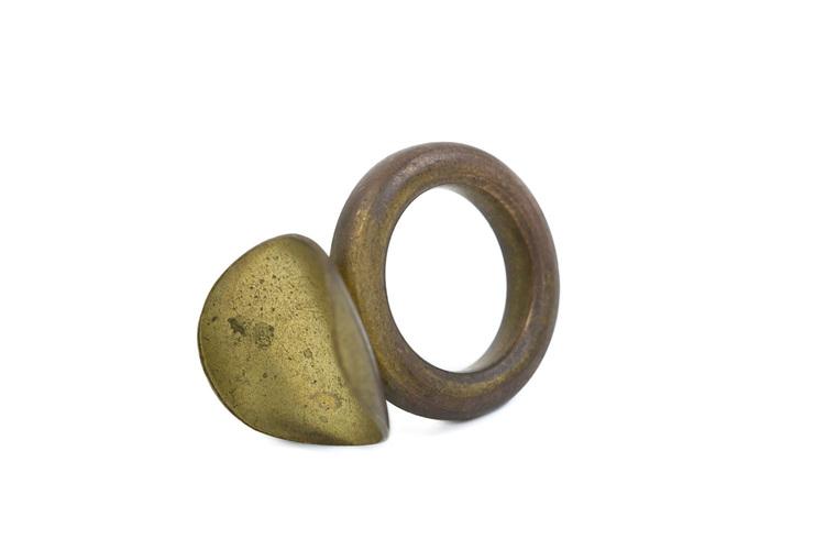 Slide Pull Ring RAW - Besson 900 Euphonium