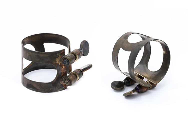 Tenor Saxophone Ligature - Unlacquered Vintage