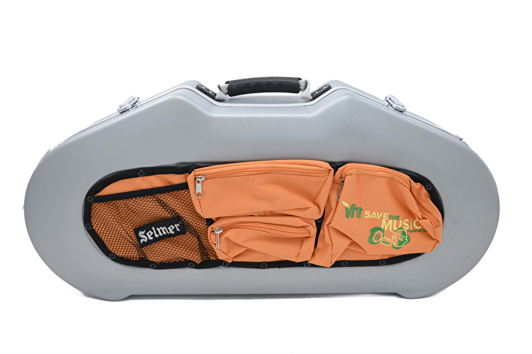 Conn-Selmer Alto Sax Case - Fibreglass with External Storage