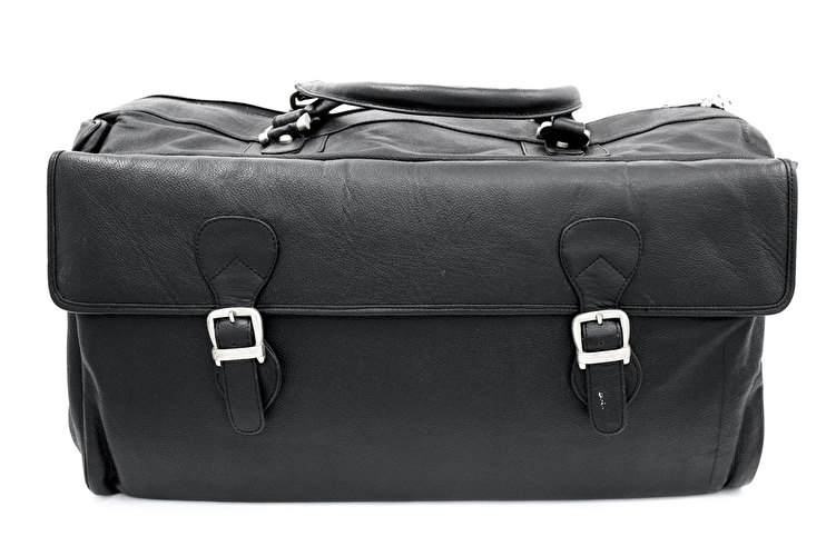 Leather Brass Instrument Gig Bag - Double/Triple
