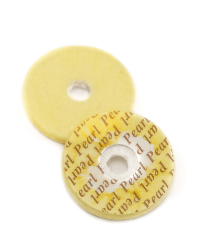 Pearl Flute Pad - 19mm x 2.6mm with 4mm Hole