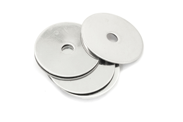 Resonator - Flat Metal for Saxophone Pads - 19.1mm - Pack of 10