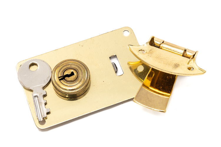 Large Flush Latch Set