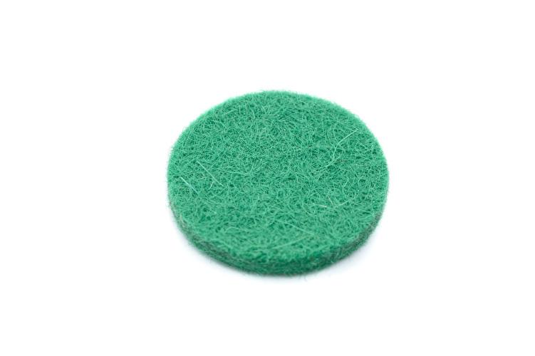 Felt Disc - Green - 16mmx2mm