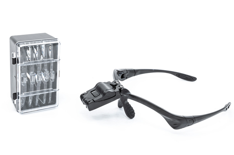 5 Lens LED Illuminated Magnifier Kit