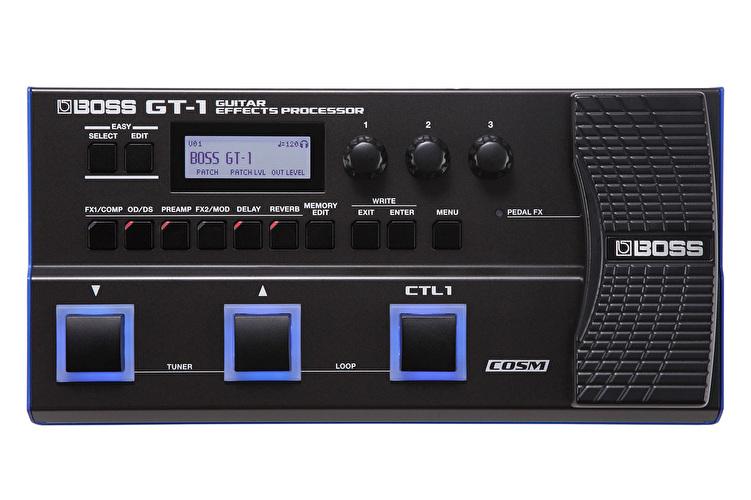 Boss GT-1 - Ultra Portable Floor Multi Effects Processor