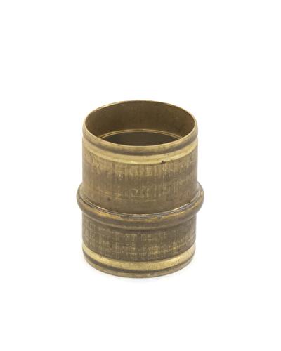 Tube Set - Nickel Inner, Brass outer - .46 bore 16.56mm long. Ferrule size .487