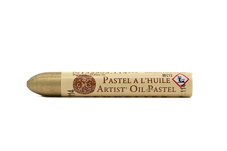 Sennelier Oil Pastel in Rich Gold - Gold Crayon Buffet colour