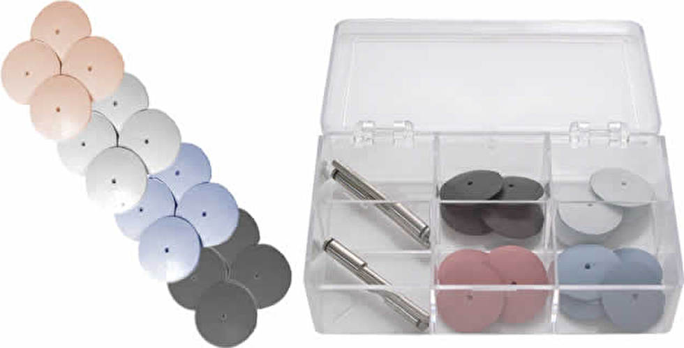 MusicMedic Silicone Polishing Wheels - 20 Piece Assortment