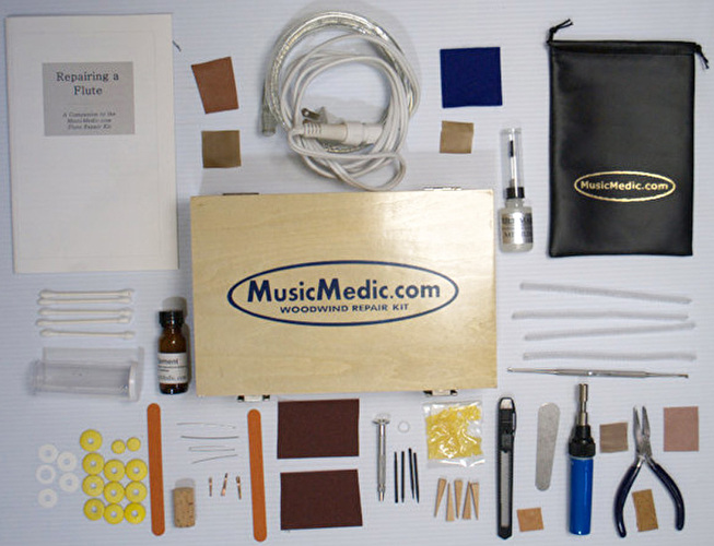 MusicMedic Flute Repair Kit - English Instructions - 220V