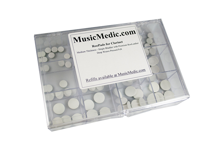 MusicMedic RooPads for Clarinet - Assortment - 100 Pads in Box