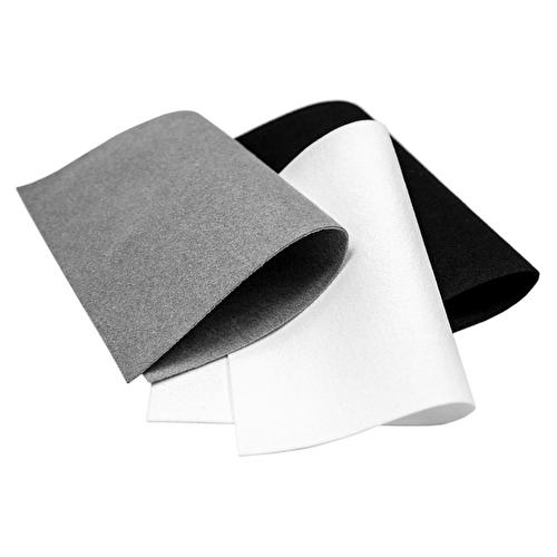 MusicMedic Ultra-Suede (White) - 10cm x 15cm Sheet