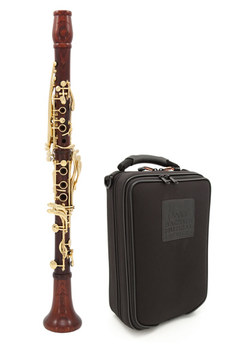 Backun MoBa - Cocobolo with Gold keys  - Bb Clarinet
