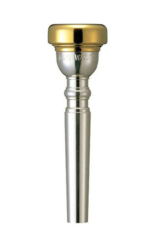 Yamaha Signature Series Trumpet Mouthpiece with Gold Plated Rim - Allen Vizzutti