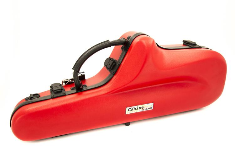 BAM Cabine Alto Saxophone Case - Red