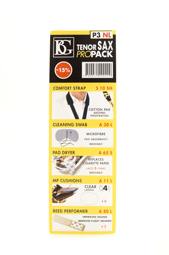 BG Pro Pack P3NL - Tenor Saxophone - No Ligature