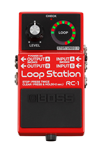 Boss RC-1 Compact Pedal Loop Station