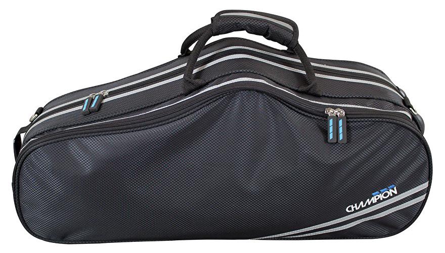 Champion Shaped Alto Saxophone Case - Black