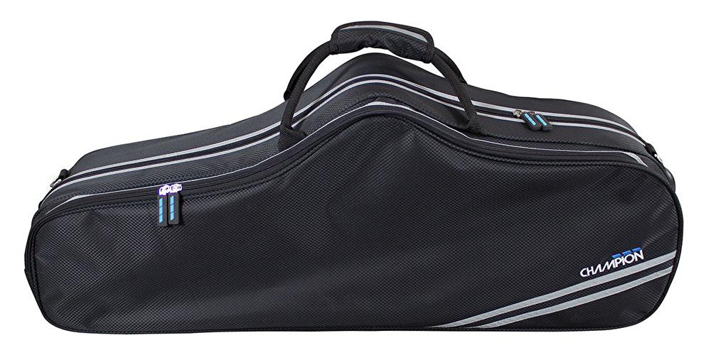 Champion Shaped Tenor Saxophone Case - Black