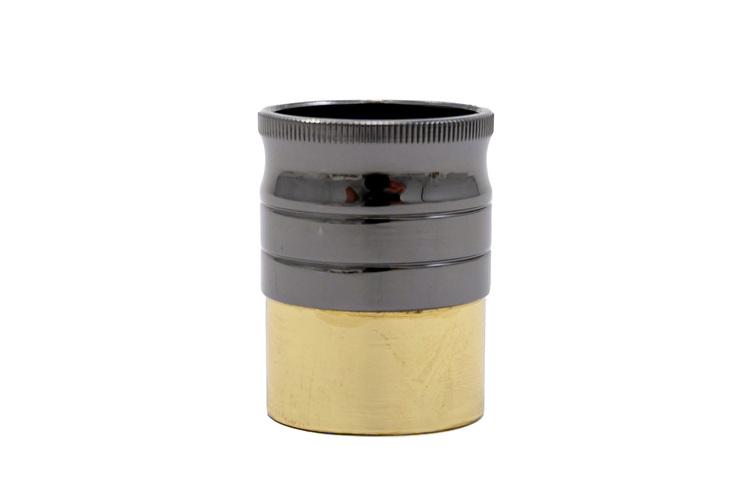 End Plug - Cannonball Alto - Black Lacquer