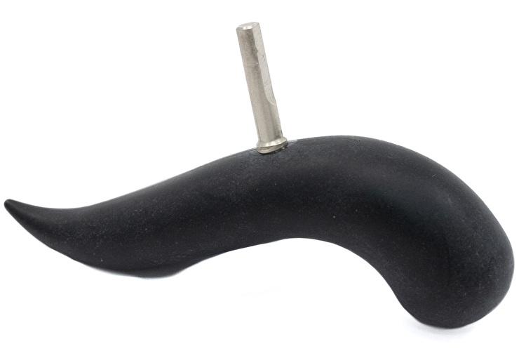 Handrest Bird with smooth shaft - Bakelite - Schreiber Bassoon
