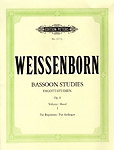 Weissenborn Bassoon Studies Op8 Book 1 Beginners