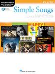 Simple Songs Instrumental Play Along Flute + Online
