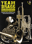 Team Brass Brass Band Instruments Treble clef + Cd