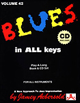 Aebersold 042 Blues In All Keys Book/Cd