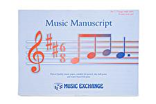 Music Manuscript No 7 (75 page S/S 18st) Scorepad
