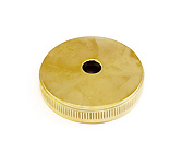 Heavy Bottom Cap - Besson Prestige 4th valve - Gold Plated German Build Only