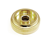 Top Cap - Besson 2051/2052 Heavy - valves 1,2,3 Gold Plated