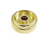 Top Cap - Besson 2051/2052 Light valves 1,2,3 - Gold Plated