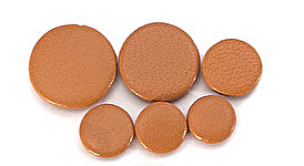 Premium Deluxe Brown Leather Clarinet Pad - Thin