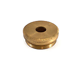 Bottom Cap - External Thread in Brass - Trumpet - B&H/Besson