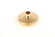 Light Bottom Cap - Besson Prestige 4th valve - Gold Plated German build only