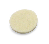 Saxophone Key Felts White - 15.9mm OD x 1.6mm Thick