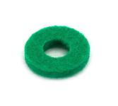 Felt Ring - Green - 14mmx2mmx6mm hole