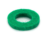Felt Ring - Green- 18mmx2mmx10mm hole