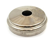 Bottom Cap - 603 - King Cornet - Silver