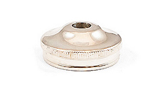 Bottom Cap - Silverplate - 615 Cornet
