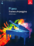 Piano Scales & Arpeggios from 2009 Grade 4 Abrsm