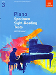 Piano Sight Reading Tests from 2009 Grade 3 Abrsm