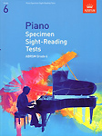 Piano Sight Reading Tests from 2009 Grade 6 Abrsm