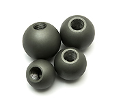 Set of 4 Dent Balls, 28.58 mm to 38.1 mm
