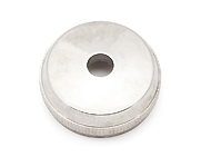 Bottom Cap - Silver plated