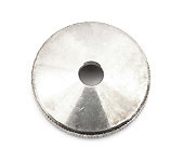 Bottom Cap - Silverplate - 675/677 Eb Euph