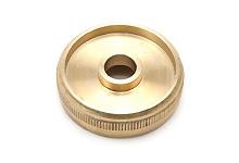 Top Cap - Besson 983 Eeb Tuba raw brass